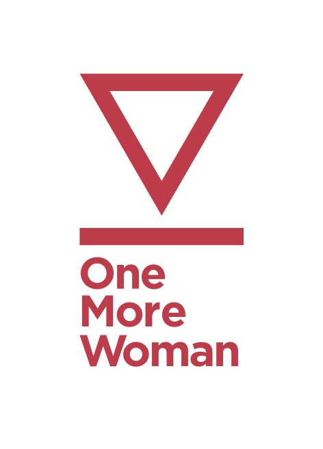 one more woman logo