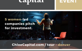 Denver Finalists | Chloe Capital National Tour