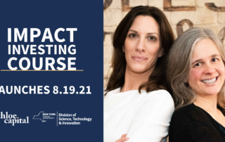 Impact Investing Course | Chloe Capital